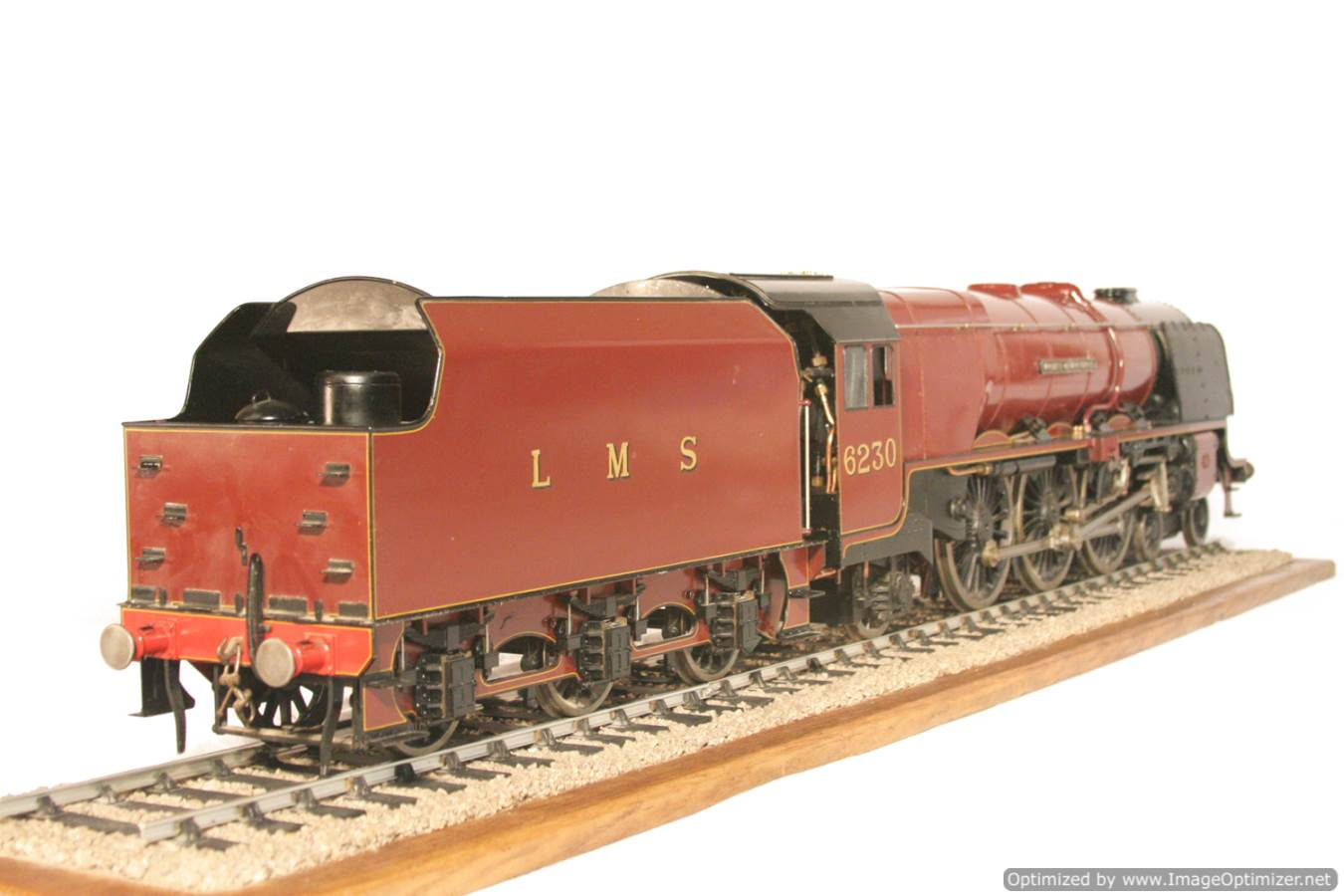 test 3 gauge LMS Stanier Duchess locomotive live steam model for sale 22-Optimized