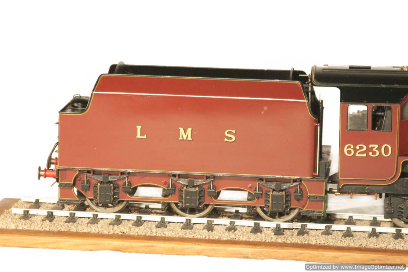 test 3 gauge LMS Stanier Duchess locomotive live steam model for sale 23-Optimized