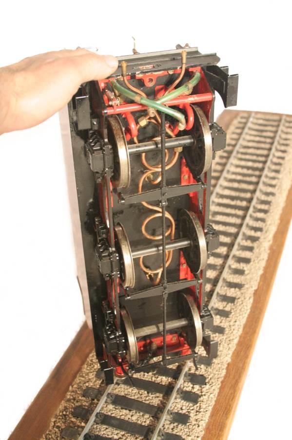 test 3 gauge LMS Stanier Duchess locomotive live steam model for sale 25-Optimized