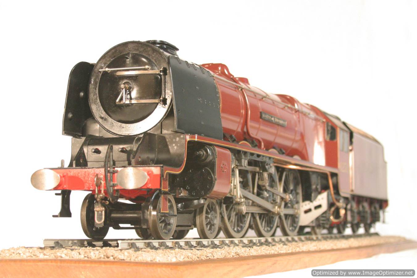 test 3 gauge LMS Stanier Duchess locomotive live steam model for sale 28-Optimized