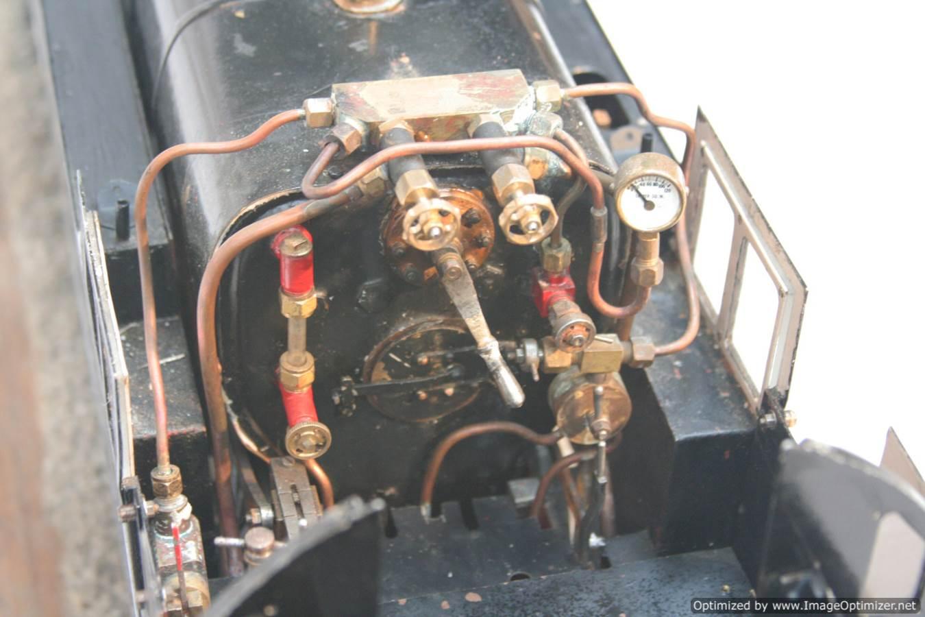 test 3 & a half inch gauge LMS Stanier class 4 tank Martin Evans Jubilee steam model for sale 05-Optimized