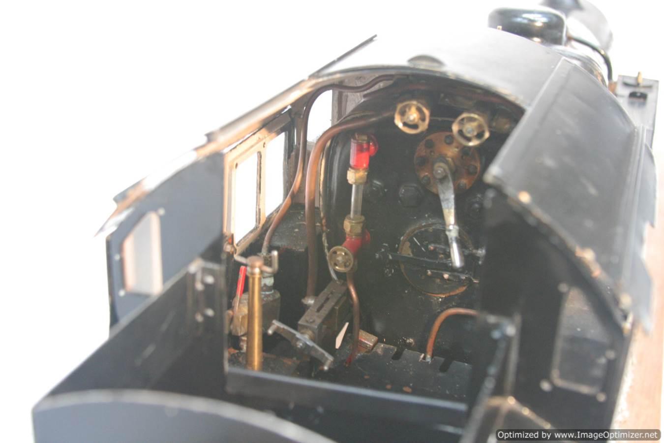 test 3 & a half inch gauge LMS Stanier class 4 tank Martin Evans Jubilee steam model for sale 06-Optimized