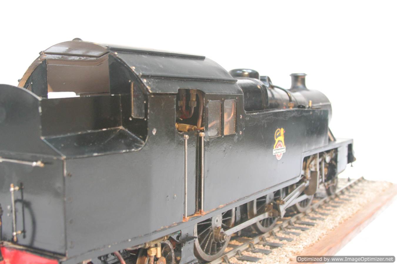 test 3 & a half inch gauge LMS Stanier class 4 tank Martin Evans Jubilee steam model for sale 08-Optimized