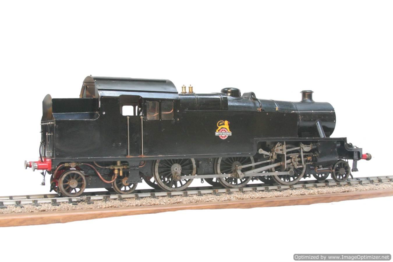 test 3 & a half inch gauge LMS Stanier class 4 tank Martin Evans Jubilee steam model for sale 09-Optimized