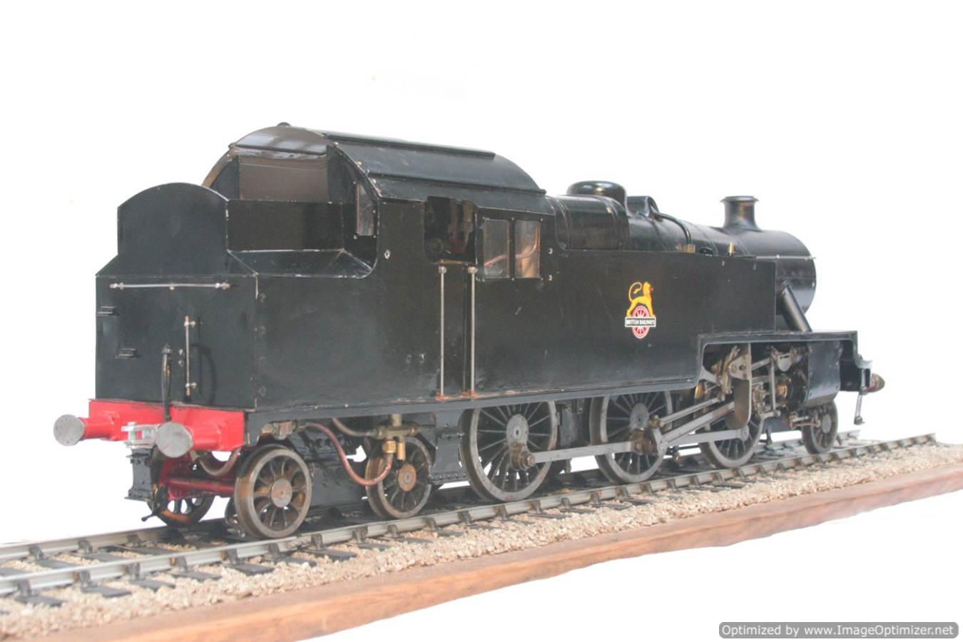 test 3 & a half inch gauge LMS Stanier class 4 tank Martin Evans Jubilee steam model for sale 10-Optimized