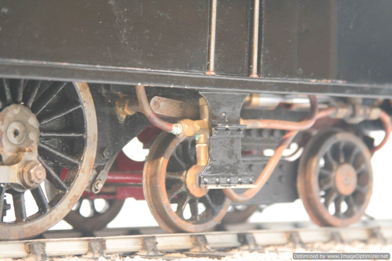 test 3 & a half inch gauge LMS Stanier class 4 tank Martin Evans Jubilee steam model for sale 12-Optimized