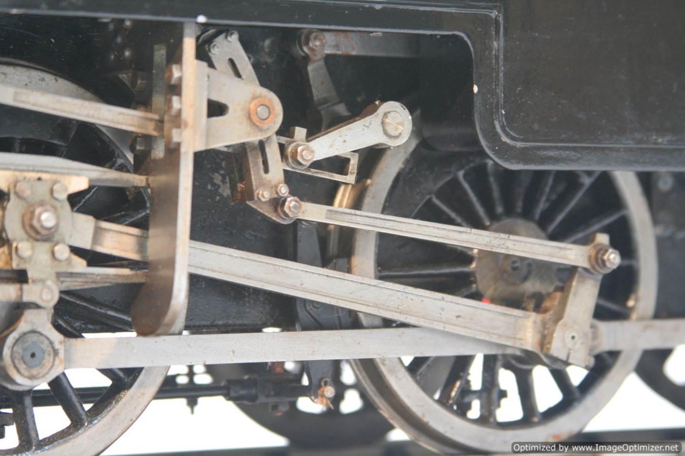 test 3 & a half inch gauge LMS Stanier class 4 tank Martin Evans Jubilee steam model for sale 13-Optimized