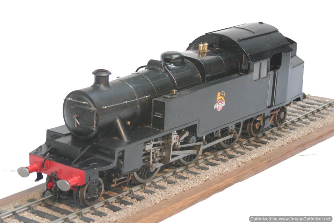 test 3 & a half inch gauge LMS Stanier class 4 tank Martin Evans Jubilee steam model for sale 16-Optimized