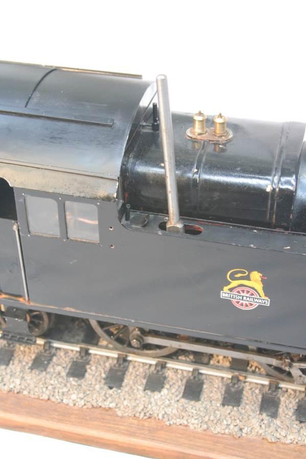 test 3 & a half inch gauge LMS Stanier class 4 tank Martin Evans Jubilee steam model for sale 2-Optimized