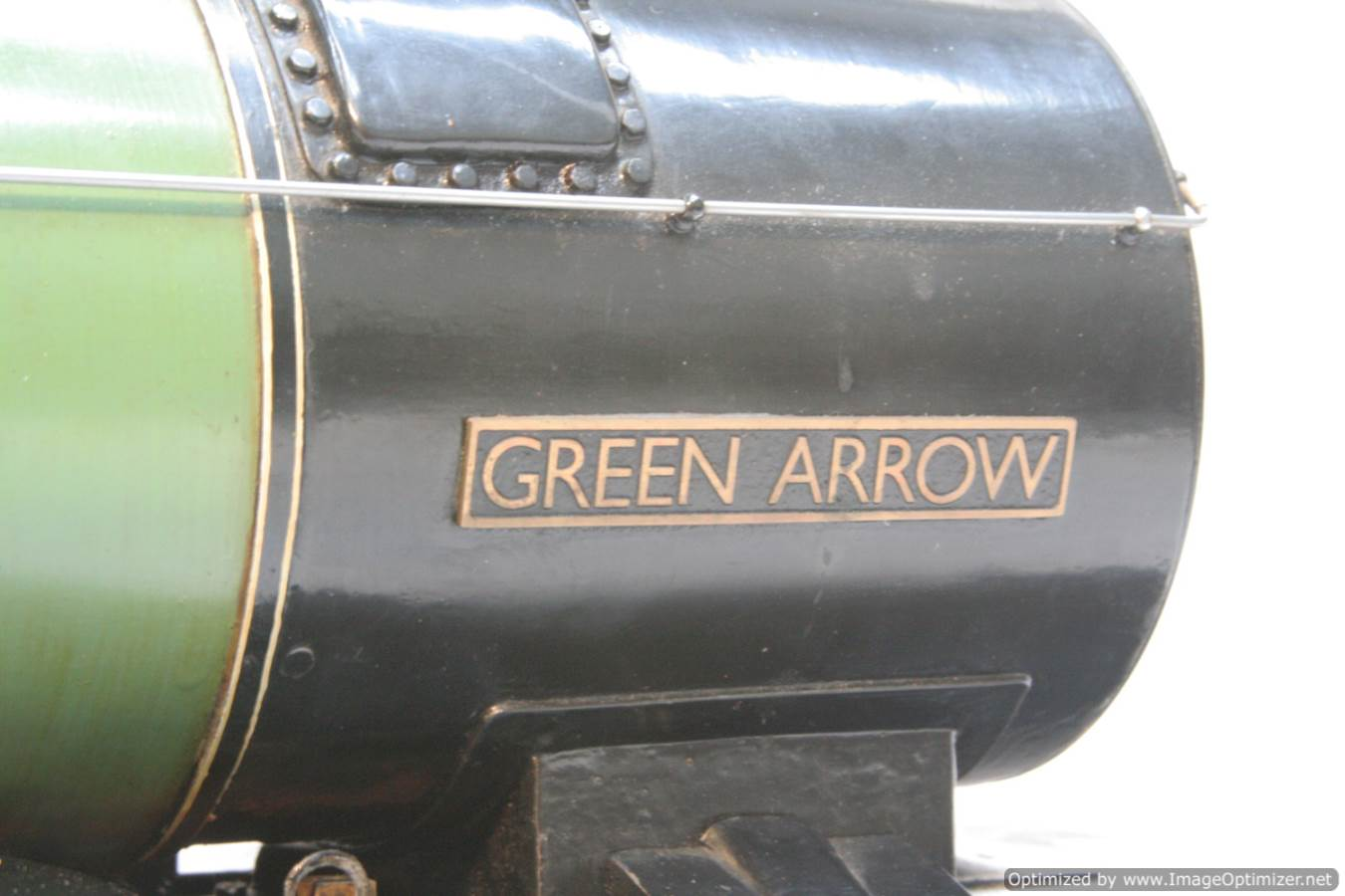 test 3 and a half inch gauge LNER V2 Green Arrow live steam model for sale 12-Optimized