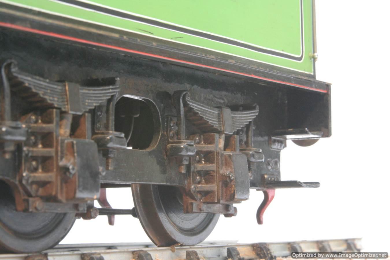 test 3 and a half inch gauge LNER V2 Green Arrow live steam model for sale 35-Optimized