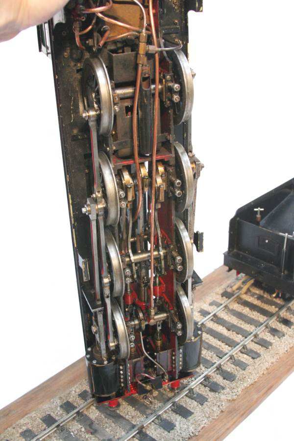 test live steam model for sale 3 and a half inch gauge LBSC Netta locomotive 05-Optimized