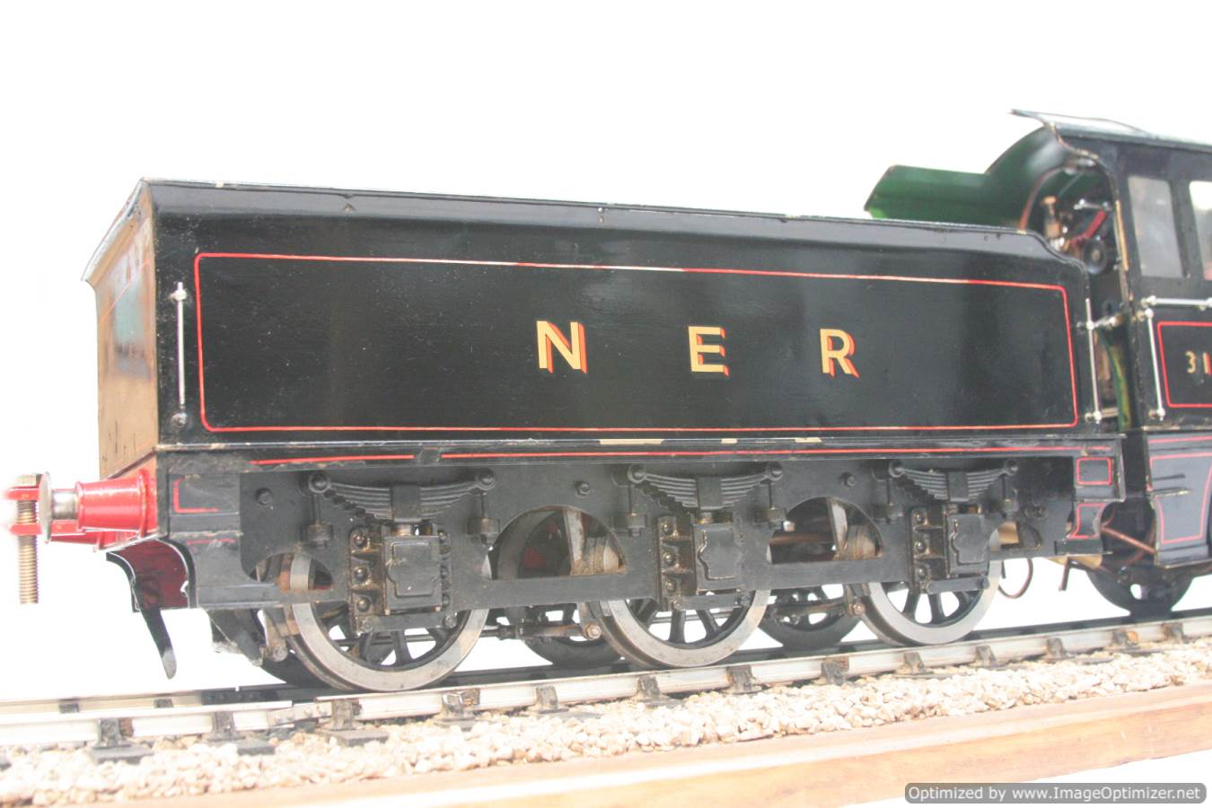 test live steam model for sale 3 and a half inch gauge LBSC Netta locomotive 14-Optimized