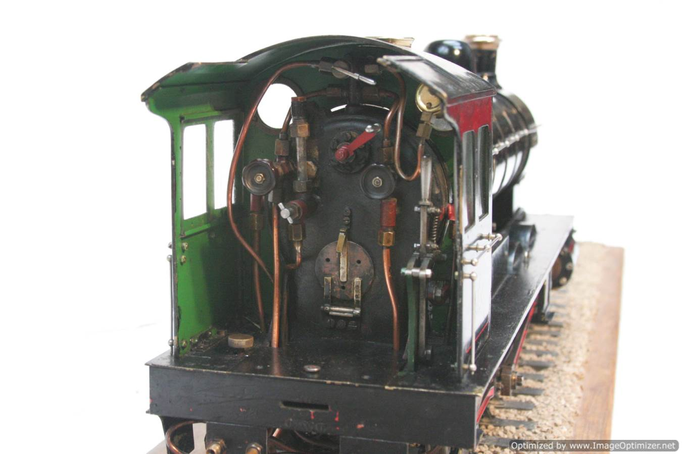 test live steam model for sale 3 and a half inch gauge LBSC Netta locomotive 25-Optimized