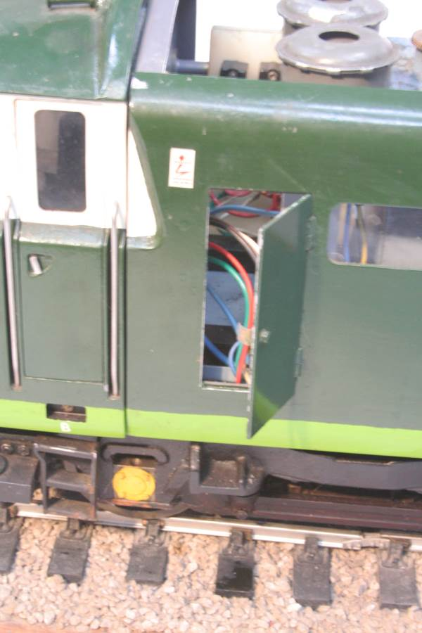 test 3 and a half inch gauge Hymek BR Class 35 diesel miniature locomotive for sale 08-Optimized