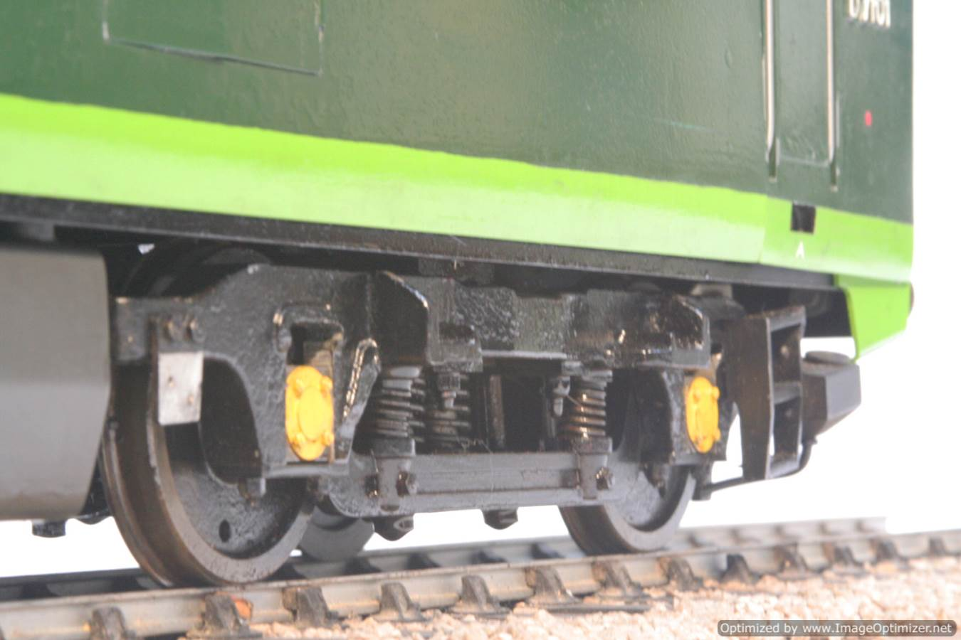 test 3 and a half inch gauge Hymek BR Class 35 diesel miniature locomotive for sale 22-Optimized