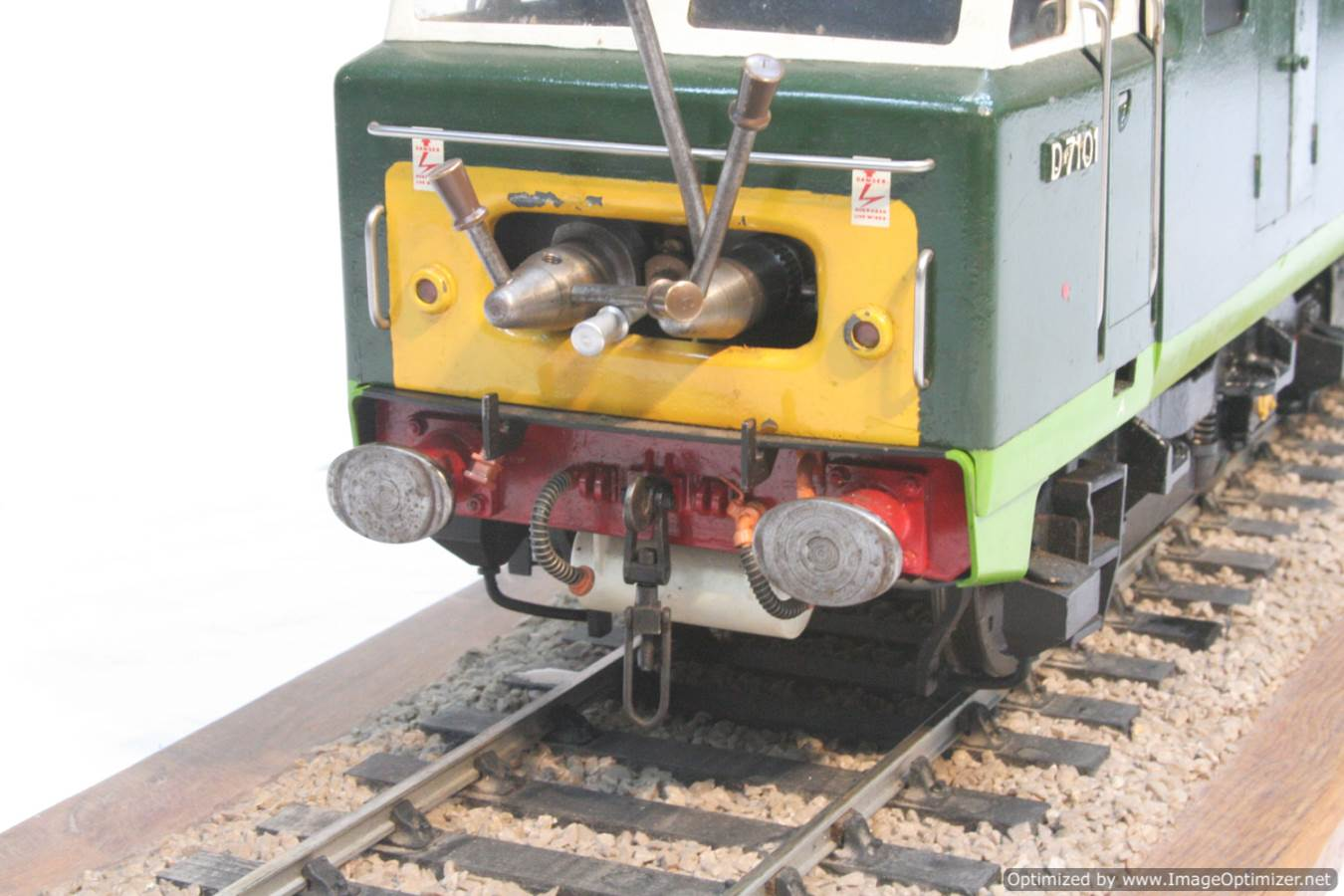 test 3 and a half inch gauge Hymek BR Class 35 diesel miniature locomotive for sale 23-Optimized
