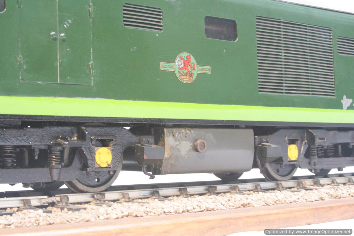 test 3 and a half inch gauge Hymek BR Class 35 diesel miniature locomotive for sale 28-Optimized
