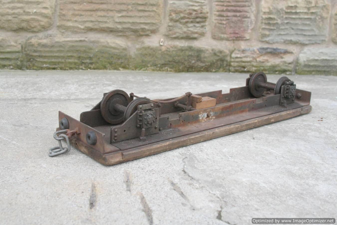 test 3 and a half inch gauge driving truck for sale 01