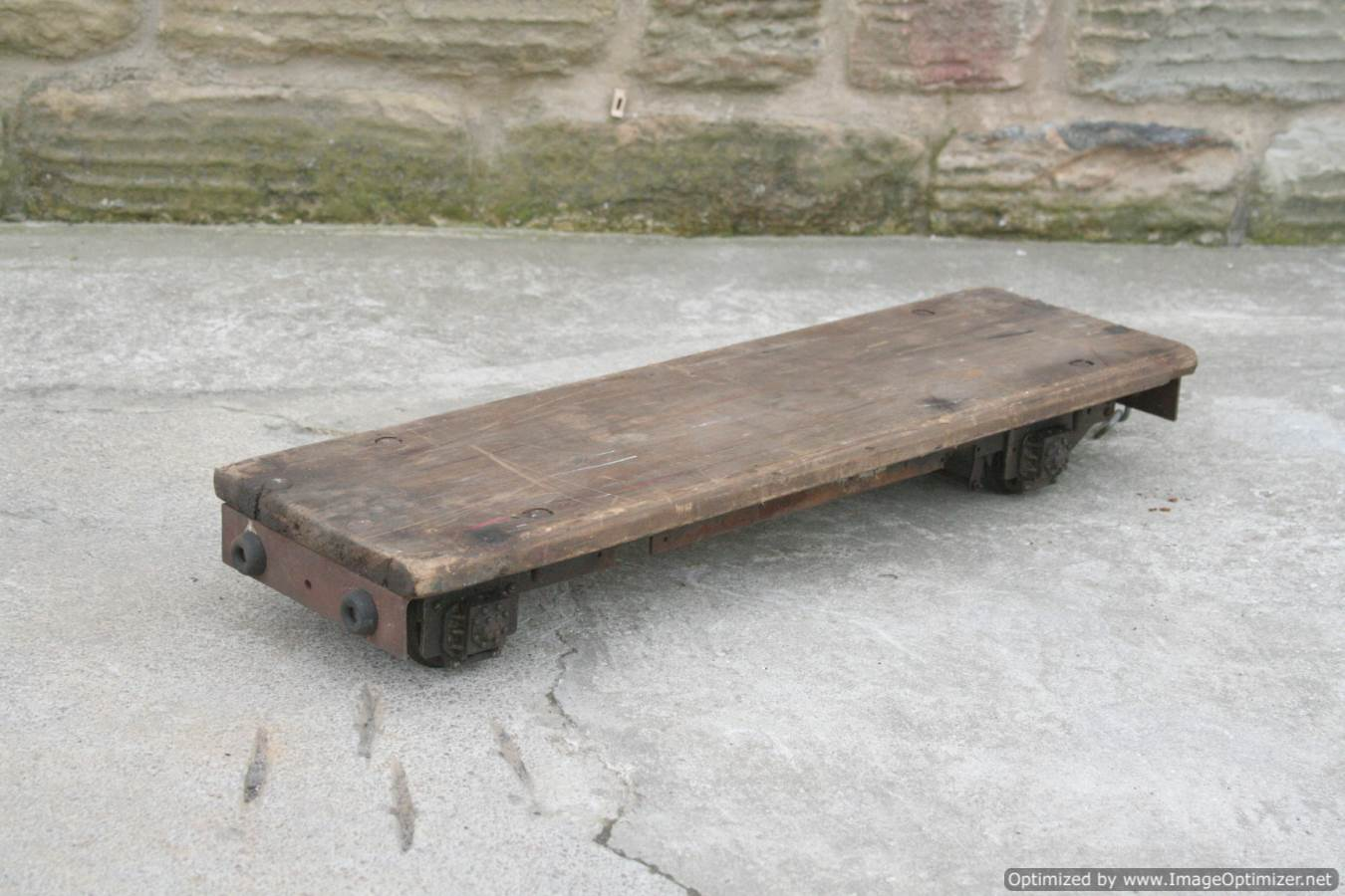 test 3 and a half inch gauge driving truck for sale 05