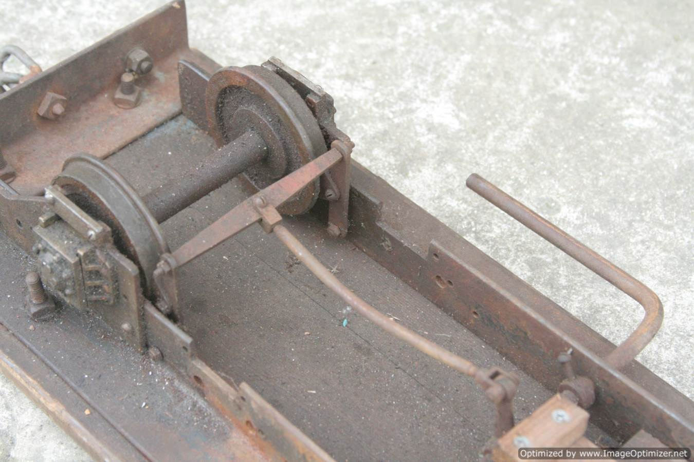 test 3 and a half inch gauge driving truck for sale (2)