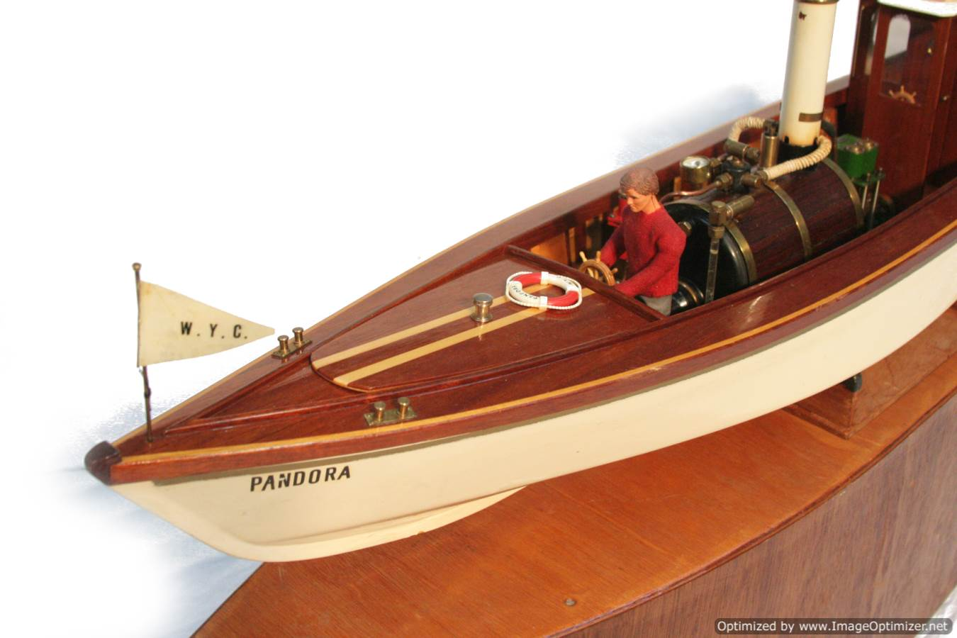 test Scale model Windermere steam launch Pandora for sale 19-Optimized