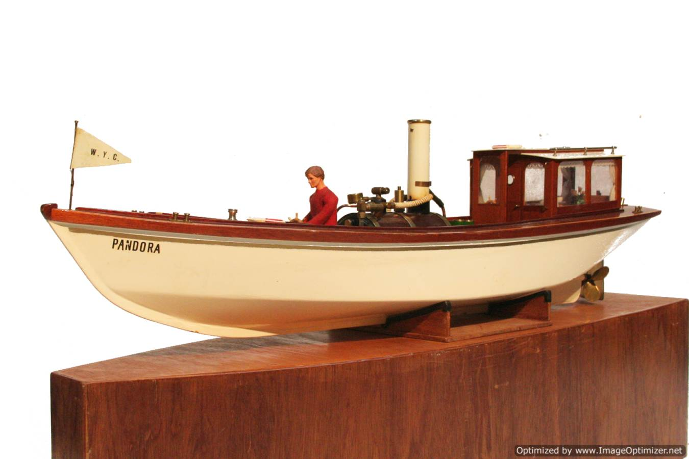 test Scale model Windermere steam launch Pandora for sale 24-Optimized