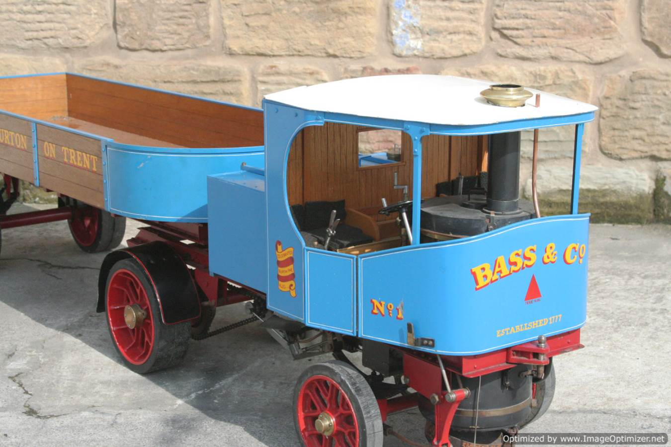 test 2 inch scale Clayton undertype lorry live steam model for sale 09-Optimized