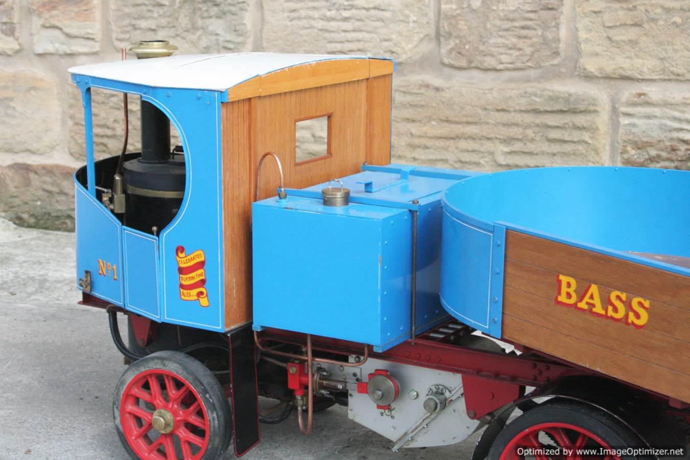 test 2 inch scale Clayton undertype lorry live steam model for sale 10-Optimized