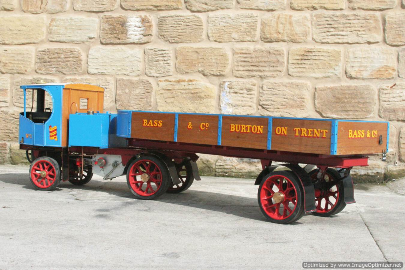 test 2 inch scale Clayton undertype lorry live steam model for sale 12-Optimized