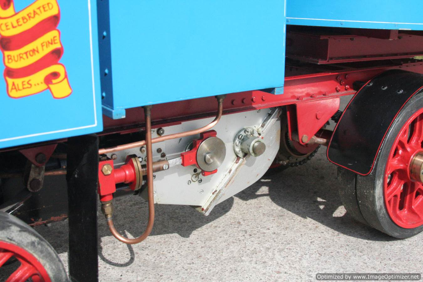 test 2 inch scale Clayton undertype lorry live steam model for sale 15-Optimized