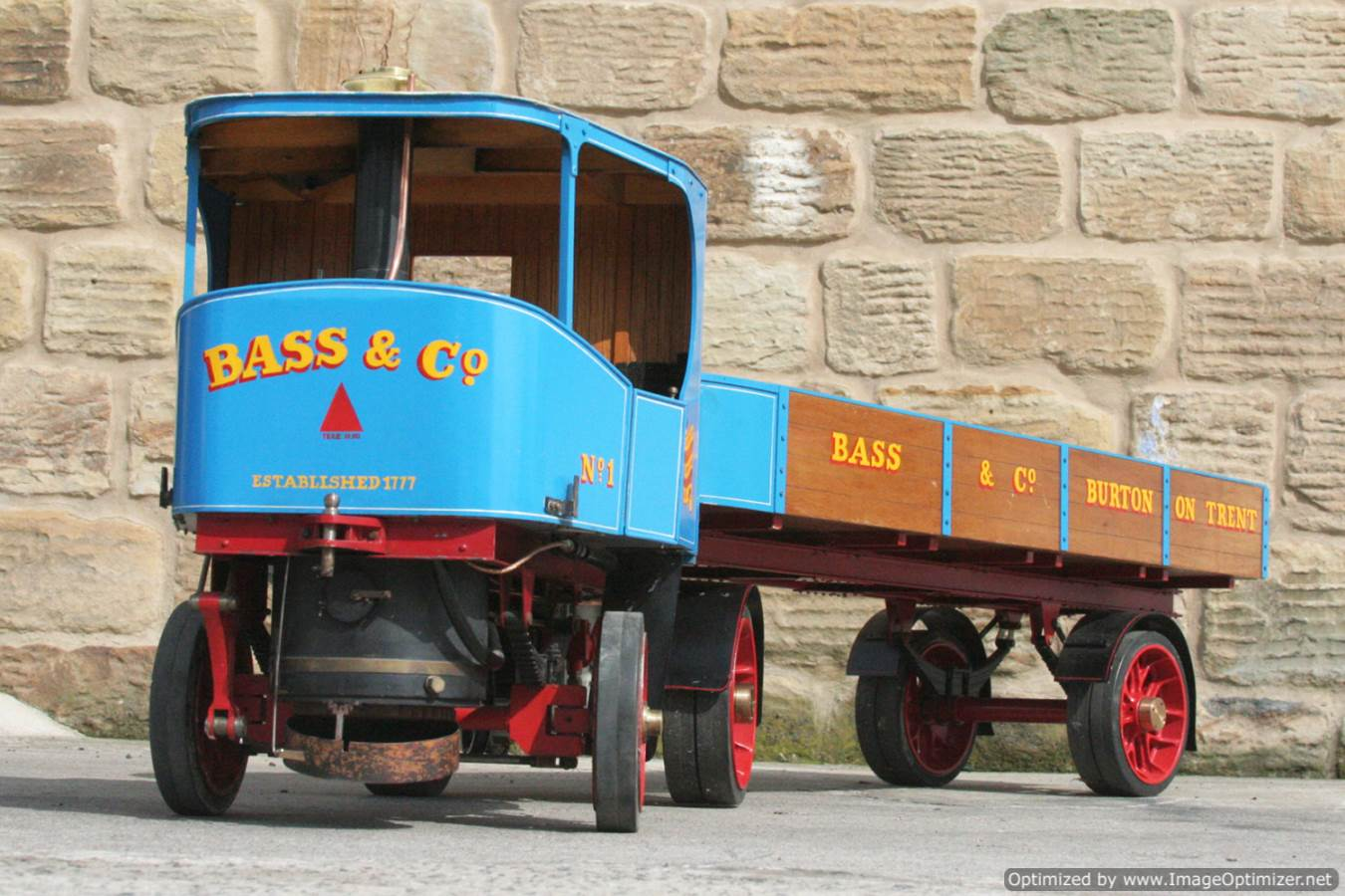 test 2 inch scale Clayton undertype lorry live steam model for sale 18-Optimized