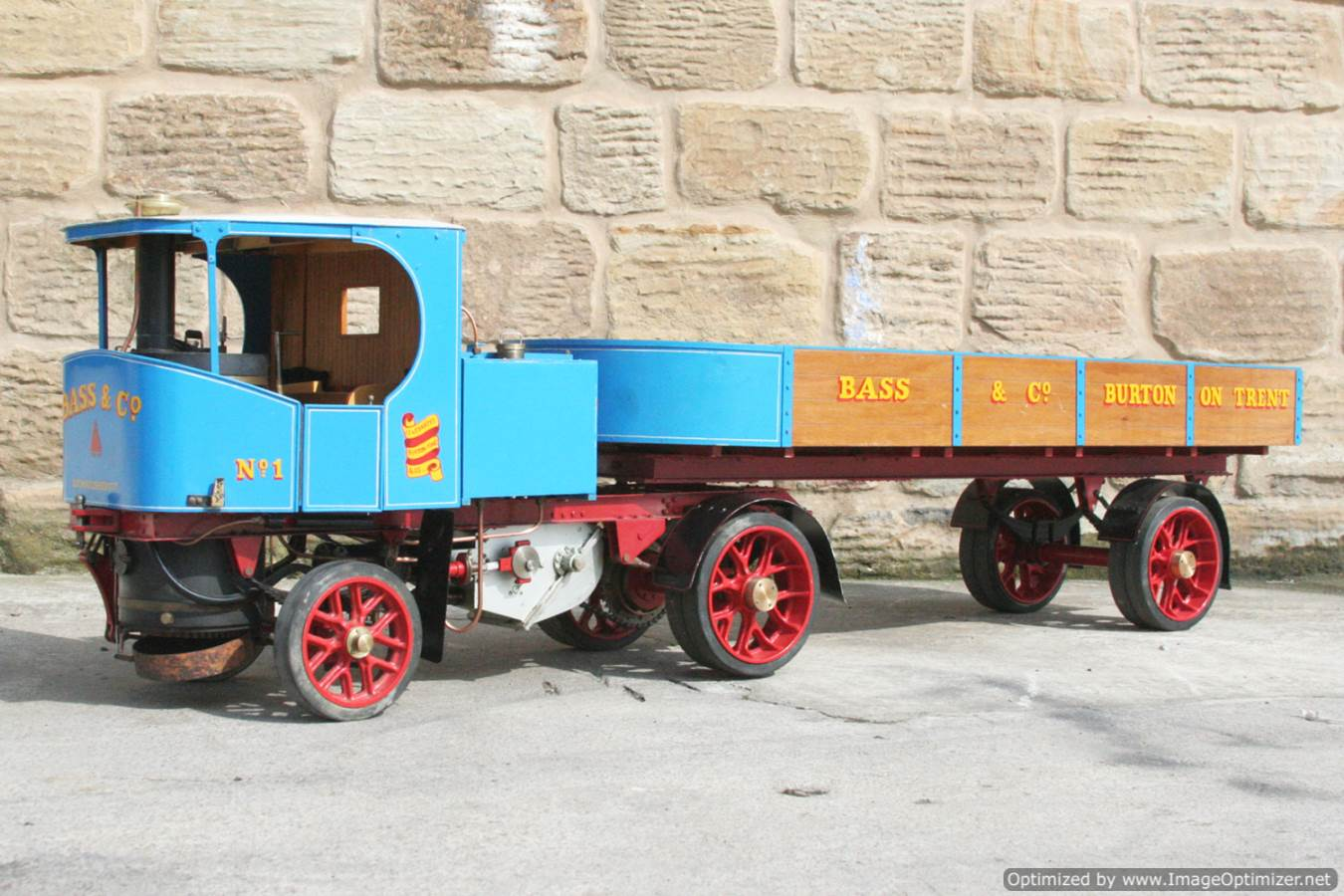 test 2 inch scale Clayton undertype lorry live steam model for sale 20-Optimized