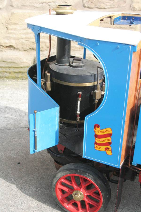 test 2 inch scale Clayton undertype lorry live steam model for sale 23-Optimized