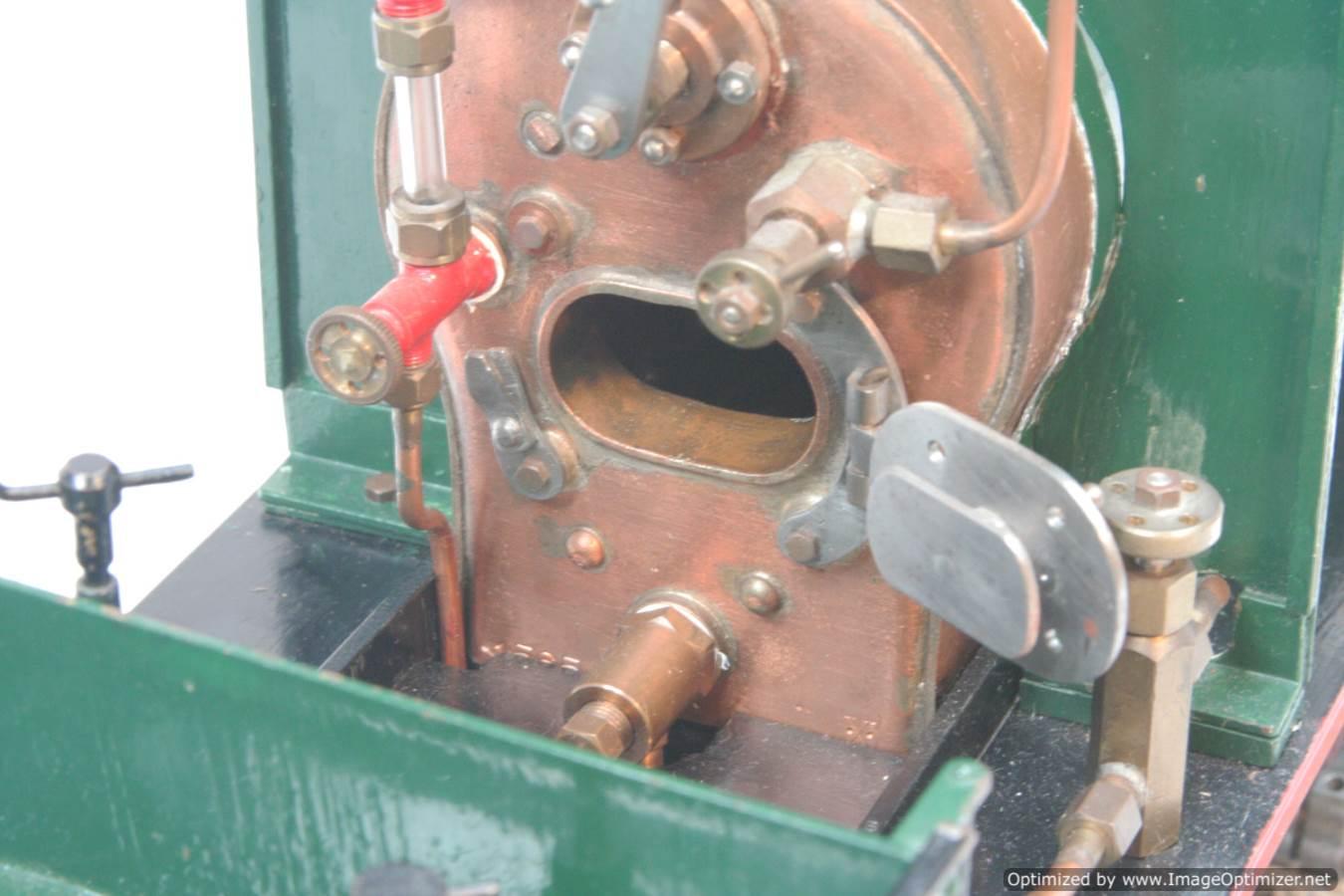test 3 gauge LBSC Juliet steam model for sale 06-Optimized