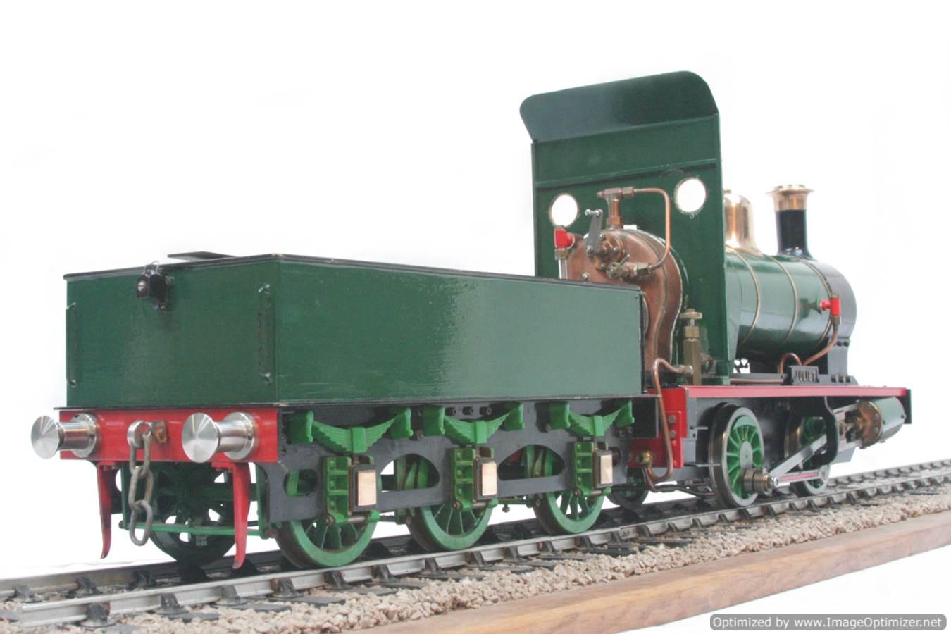 test 3 gauge LBSC Juliet steam model for sale 09-Optimized