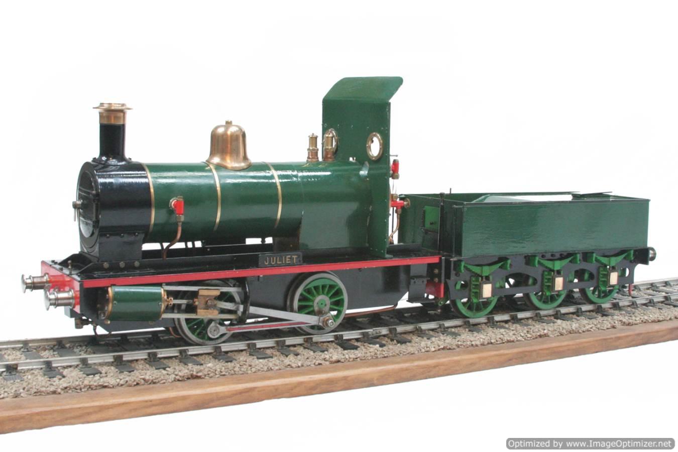test 3 gauge LBSC Juliet steam model for sale 17-Optimized