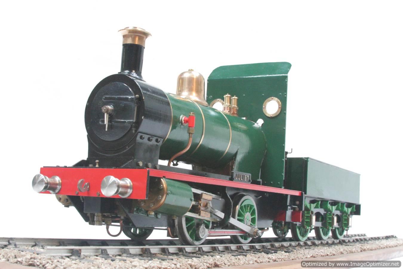 test 3 gauge LBSC Juliet steam model for sale 18-Optimized