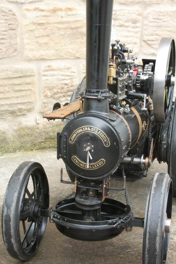 test 2 inch scale Fowler A7 traction engine for sale 03