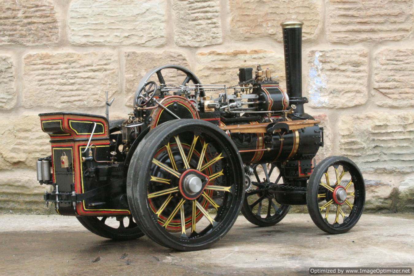 test 2 inch scale Fowler A7 traction engine for sale 10