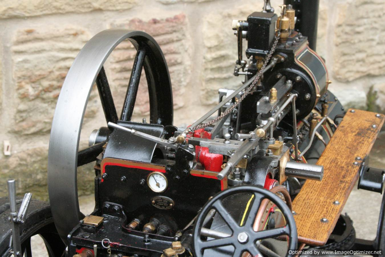 test 2 inch scale Fowler A7 traction engine for sale 12