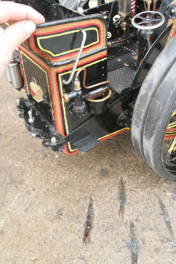 test 2 inch scale Fowler A7 traction engine for sale 16