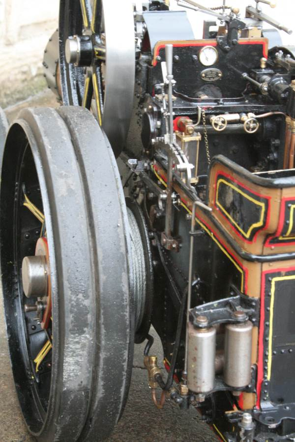 test 2 inch scale Fowler A7 traction engine for sale 18