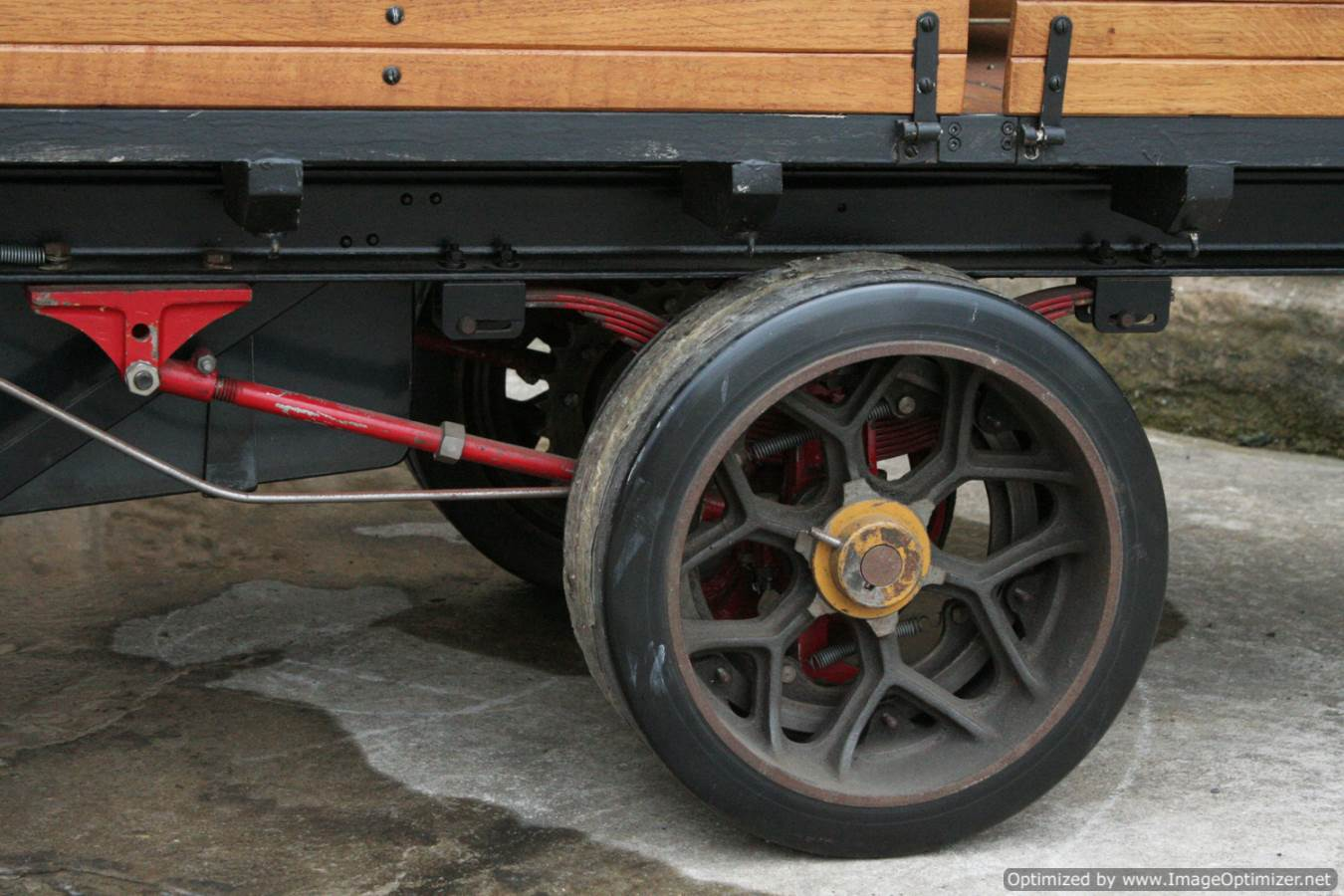 test 3 inch scale foden lorry live steam model 05