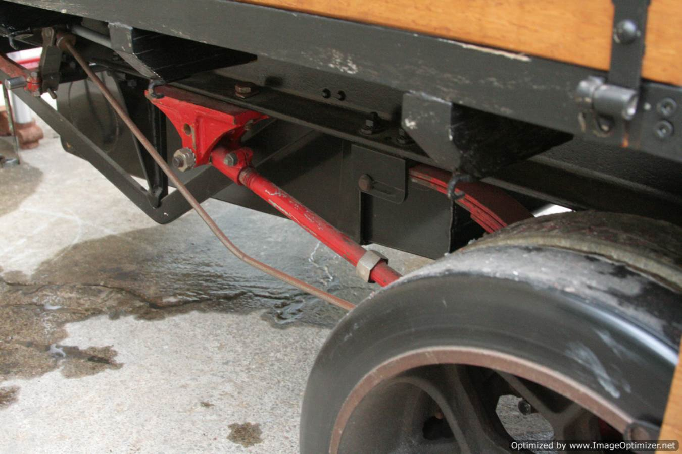 test 3 inch scale foden lorry live steam model 19