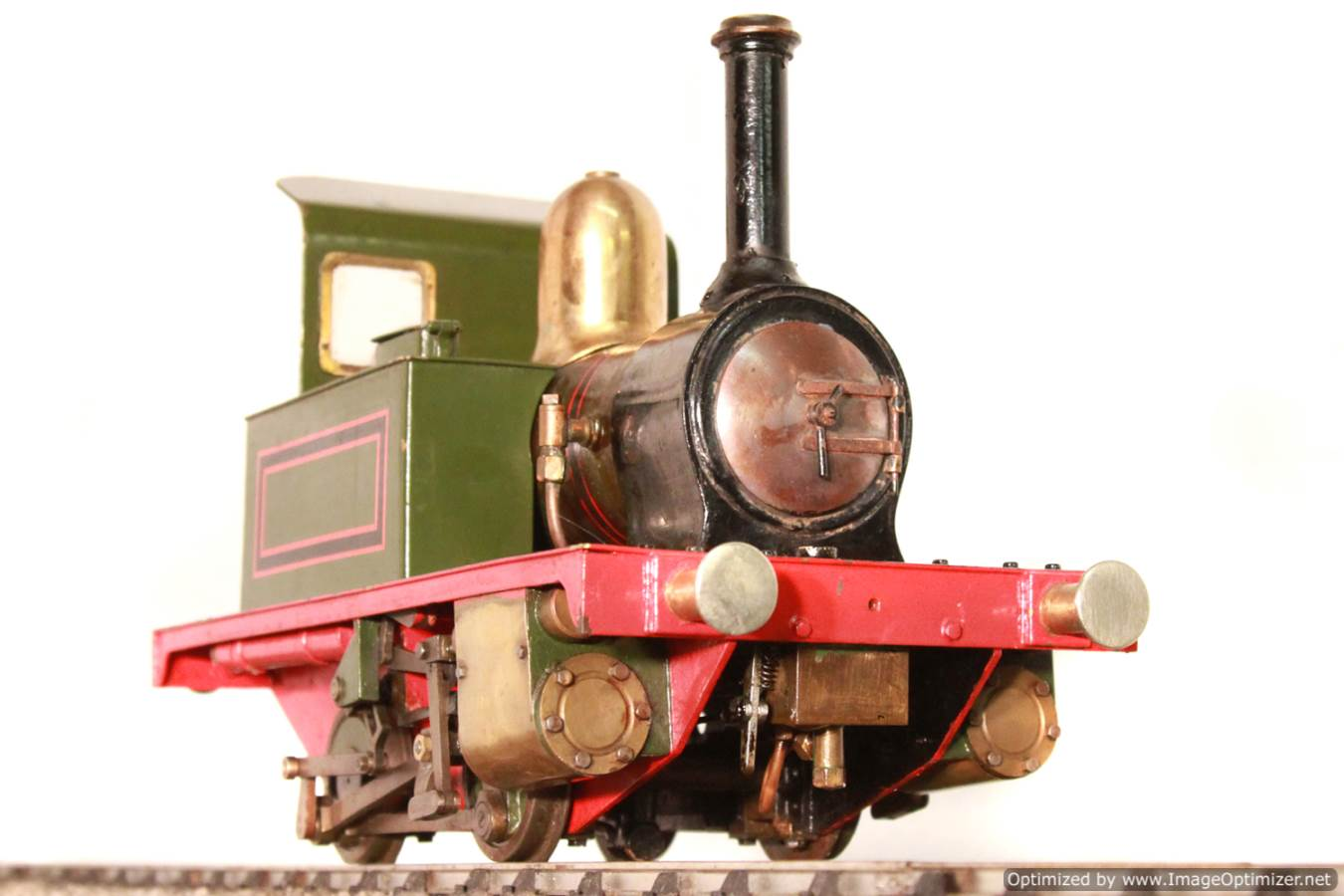 test Tich Live Steam locomotive For sale 02 Optimized