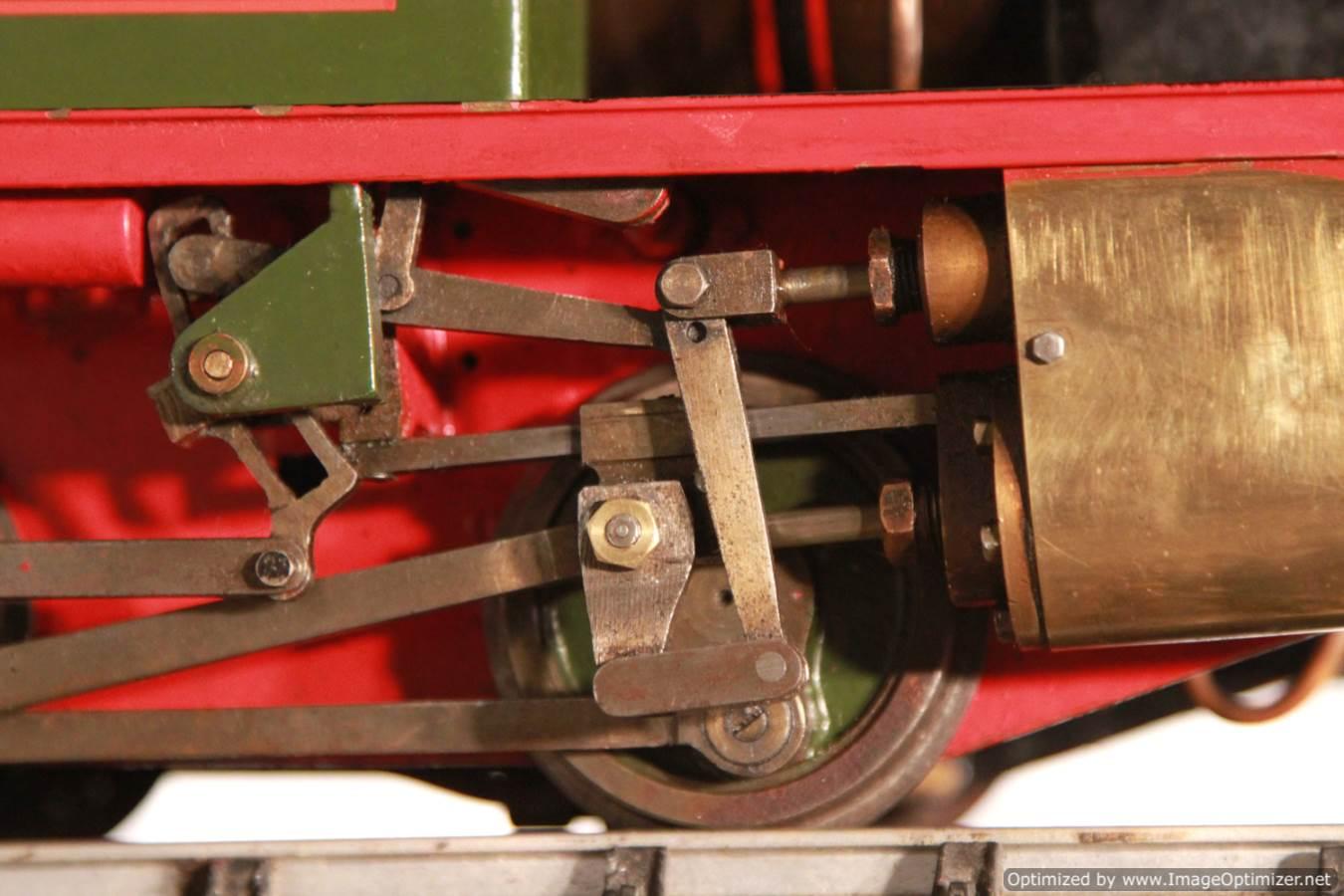 test Tich Live Steam locomotive For sale 05 Optimized