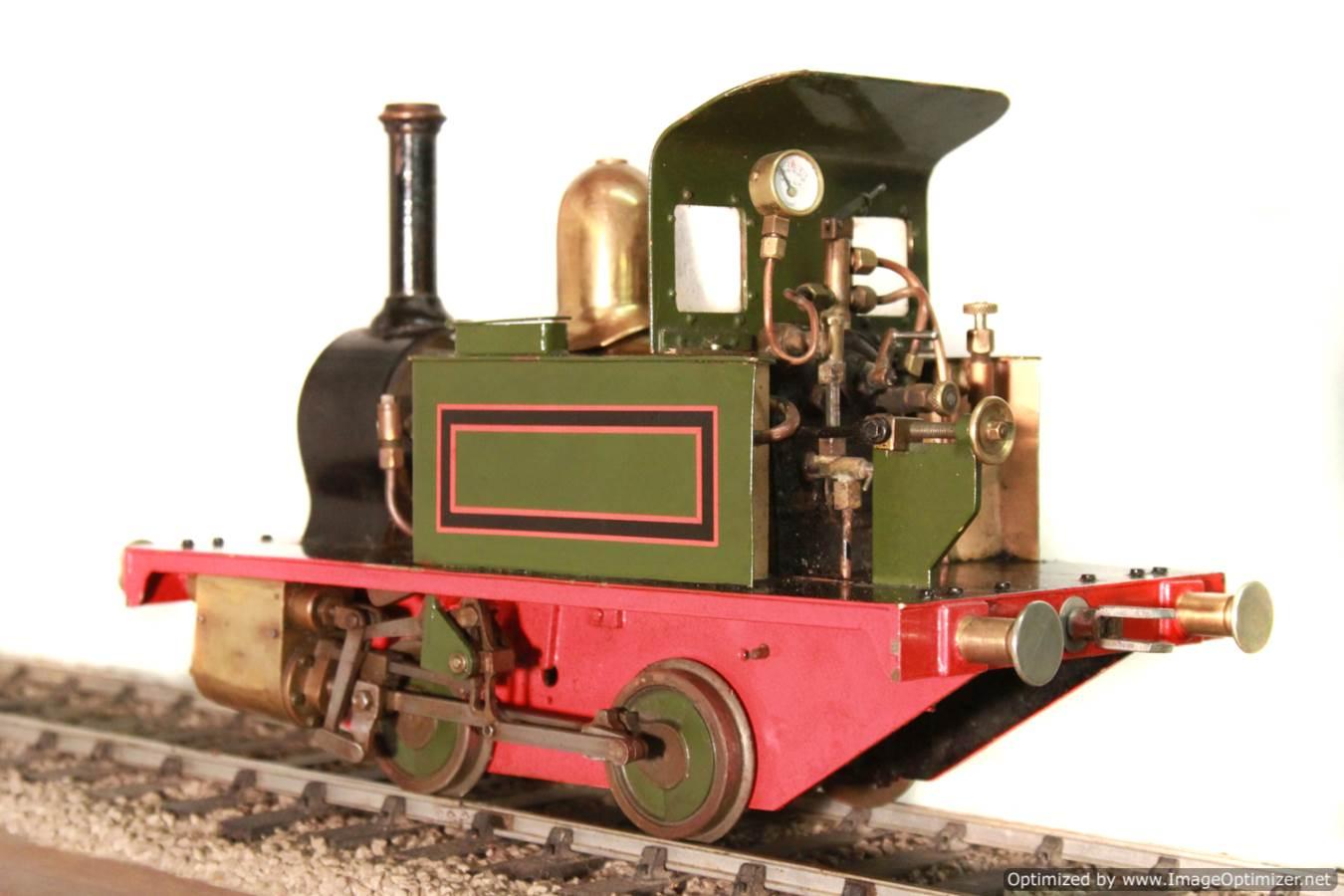 test Tich Live Steam locomotive For sale 09 Optimized