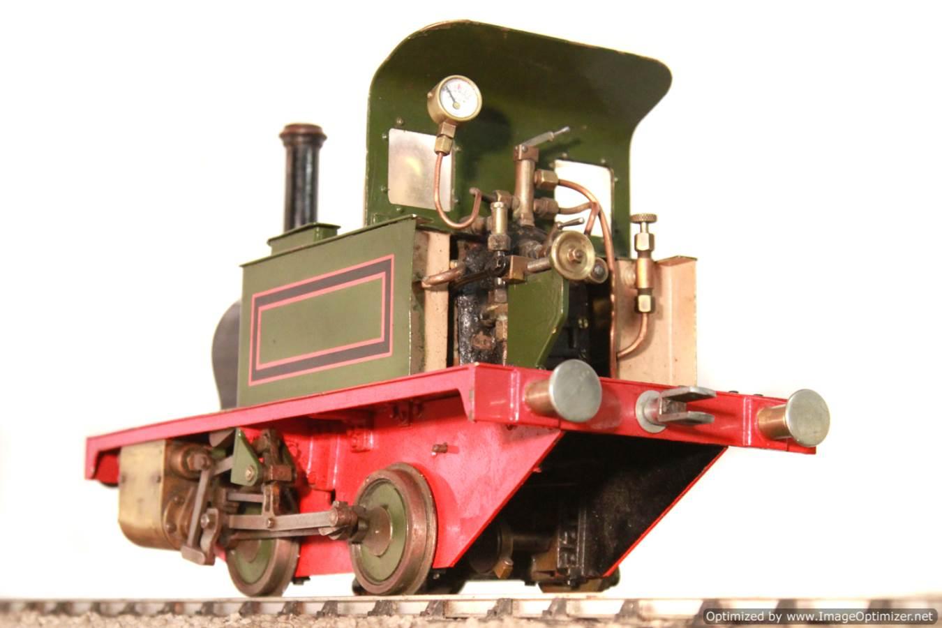 test Tich Live Steam locomotive For sale 14 Optimized
