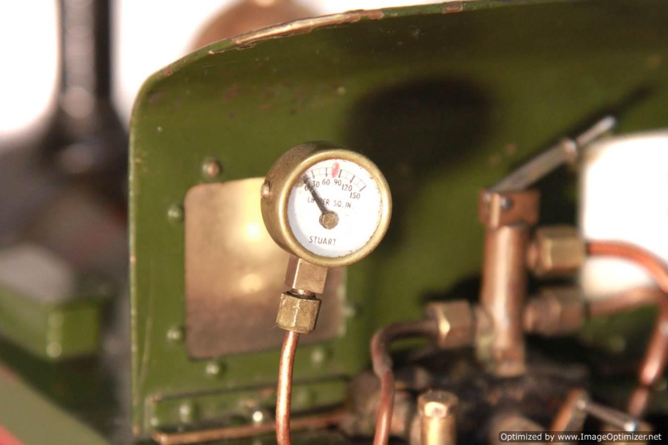 test Tich Live Steam locomotive For sale 16 Optimized